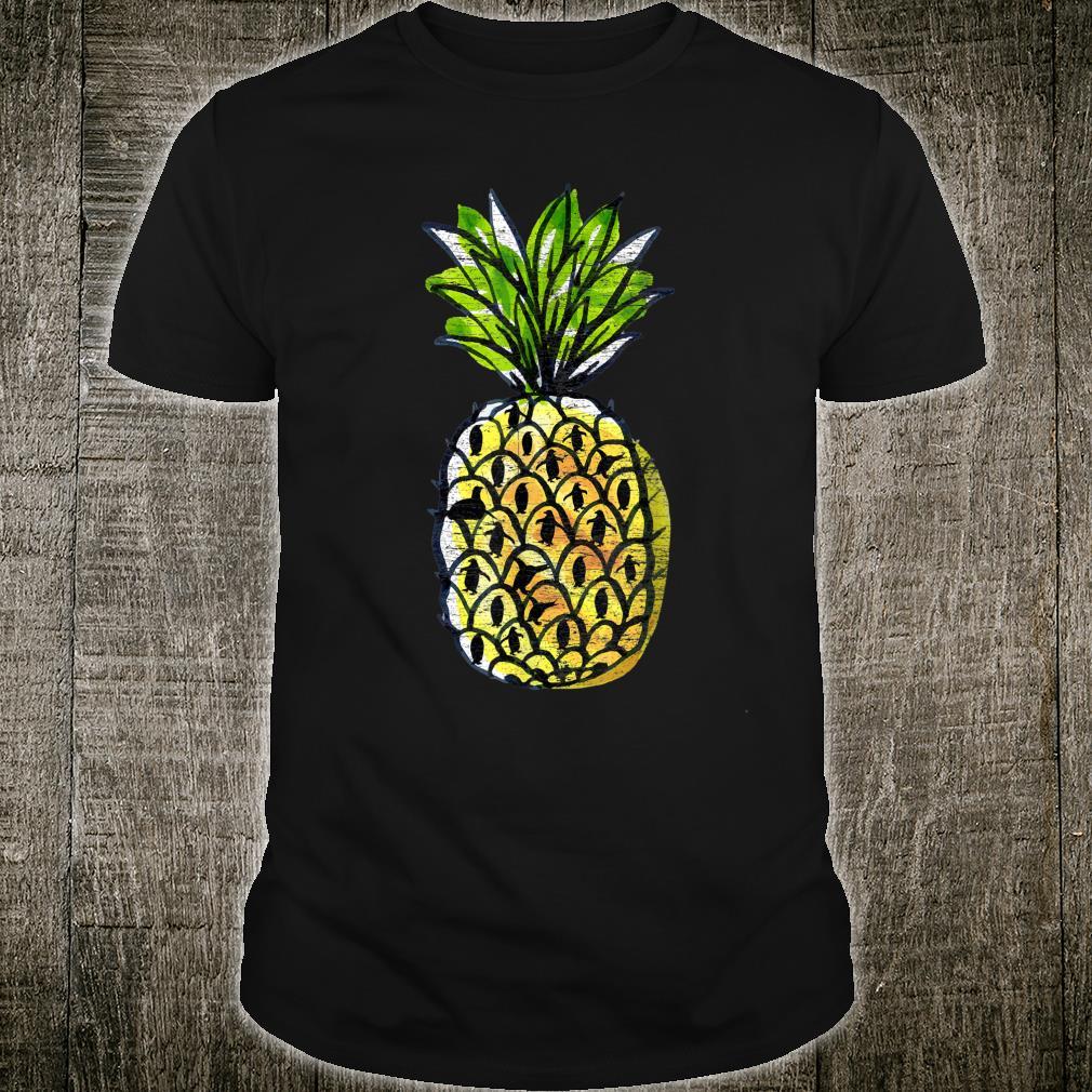 Pineapple Penguin Shirt
