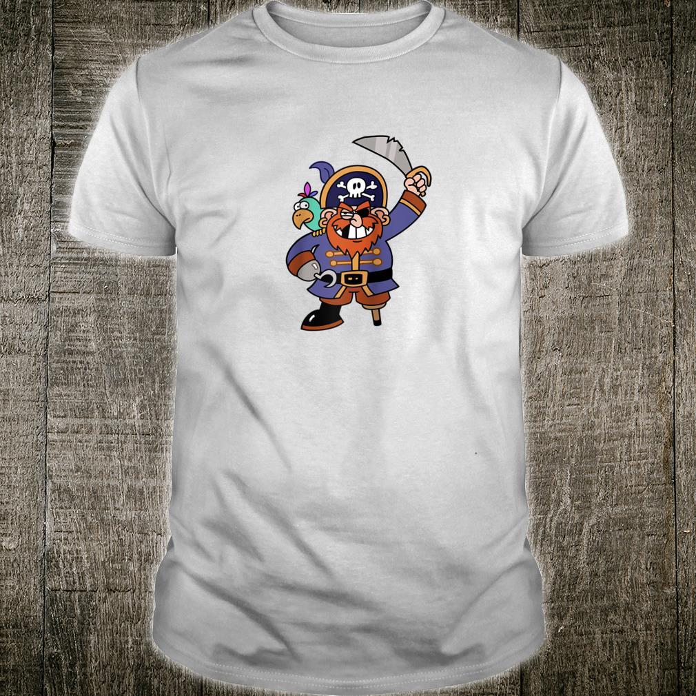 Pirate Ahoy Avast ye Skull & Bones Ahoy Halloween Shirt