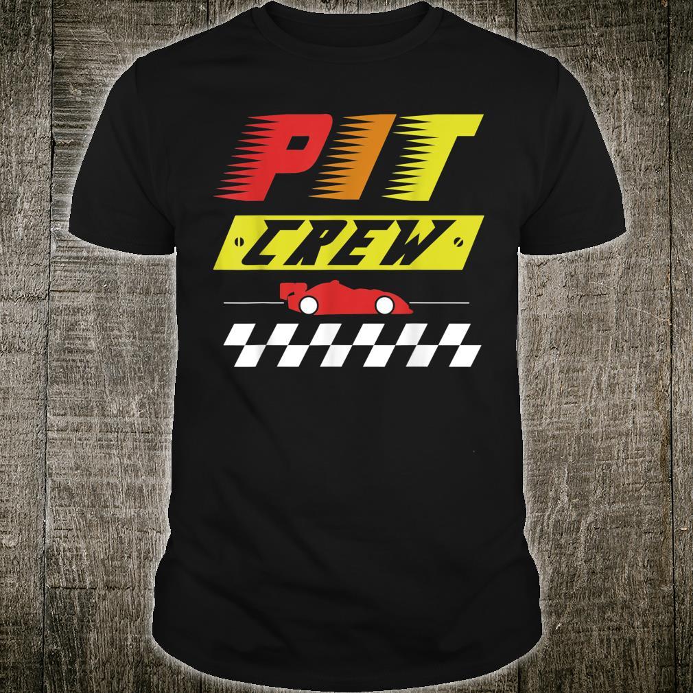 Pit Crew Raing design, Racing design, Race Car Shirt