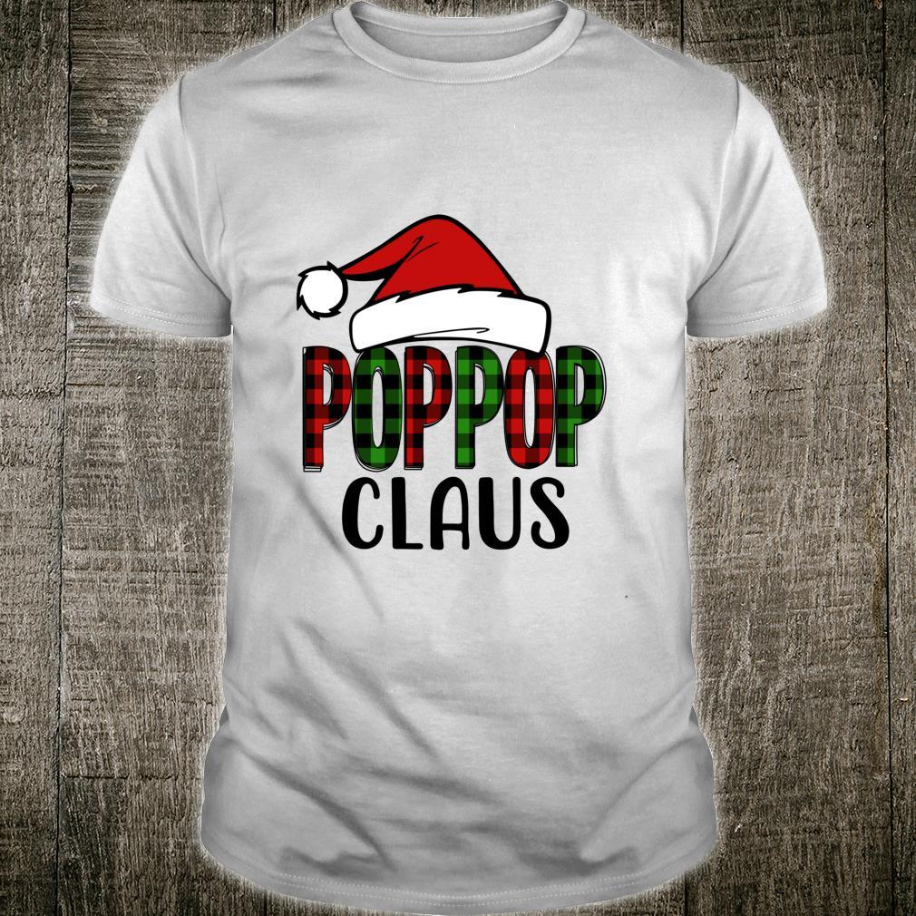 Poppop Claus Christmas Grandma Shirt
