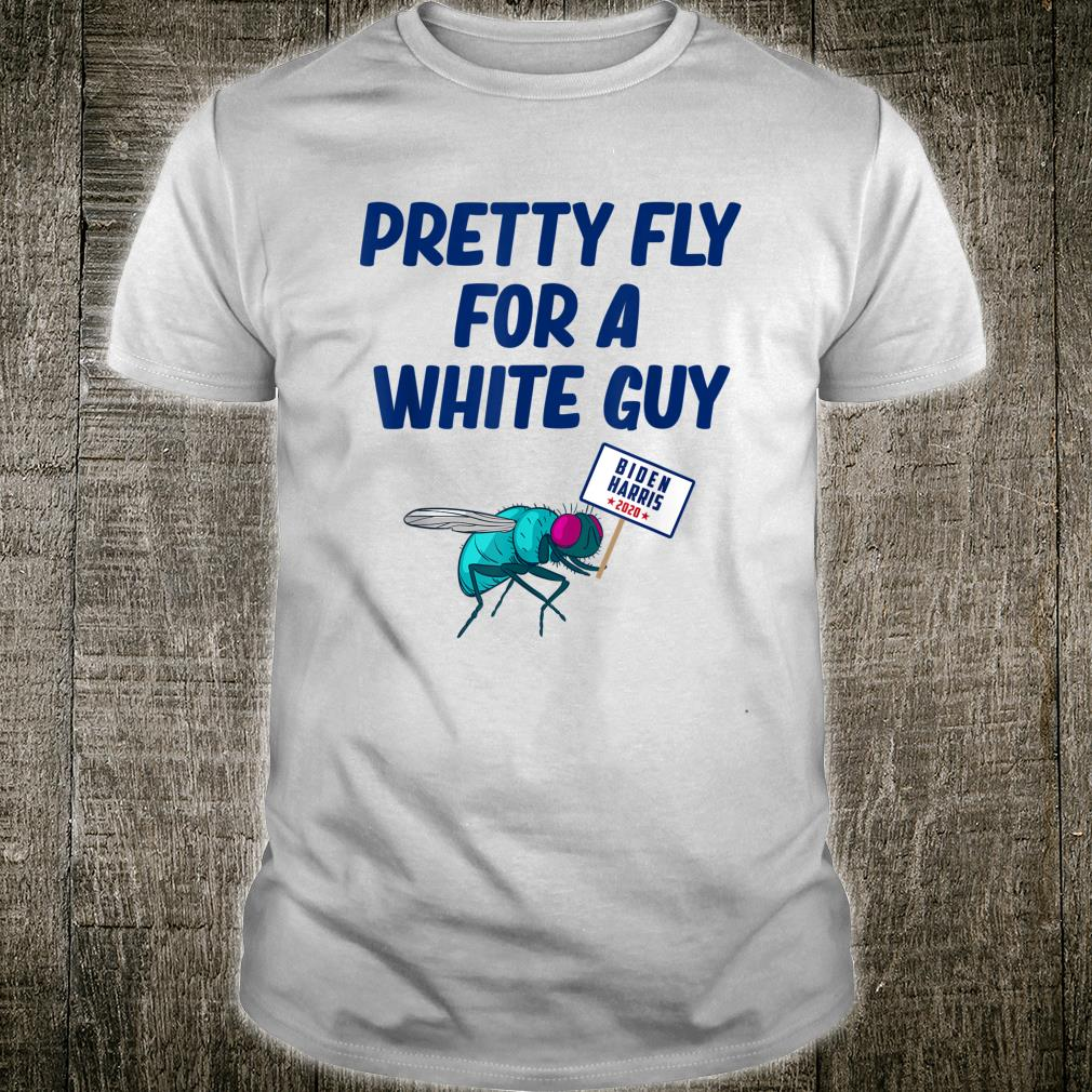 Pretty Fly For A White Guy Fly Pence Head VP Debate Shirt