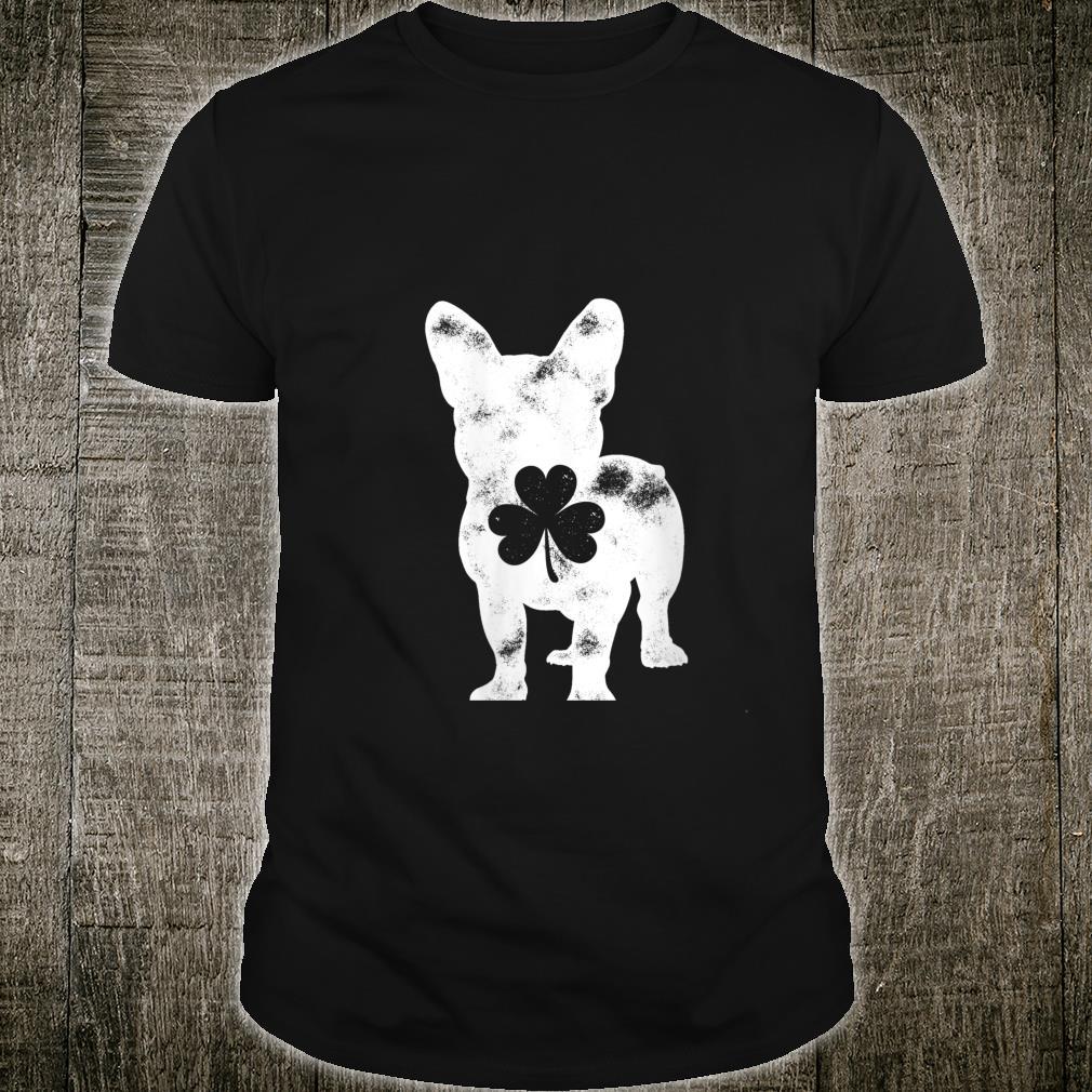 Pug St Patricks Day Shamrock Dog Clover Shirt