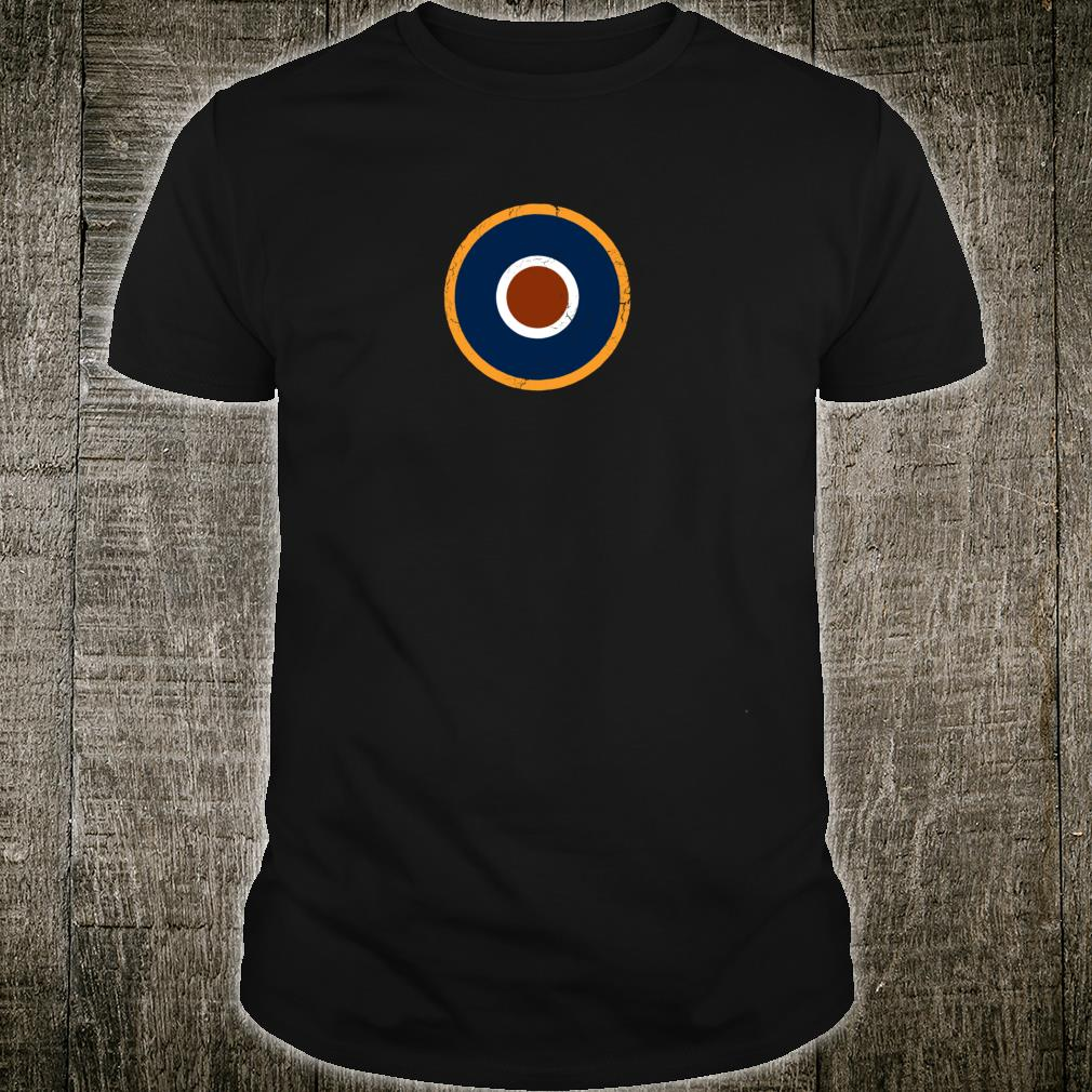RAF Typ C1 Militär Roundel Aviation Geschenk für Piloten Shirt
