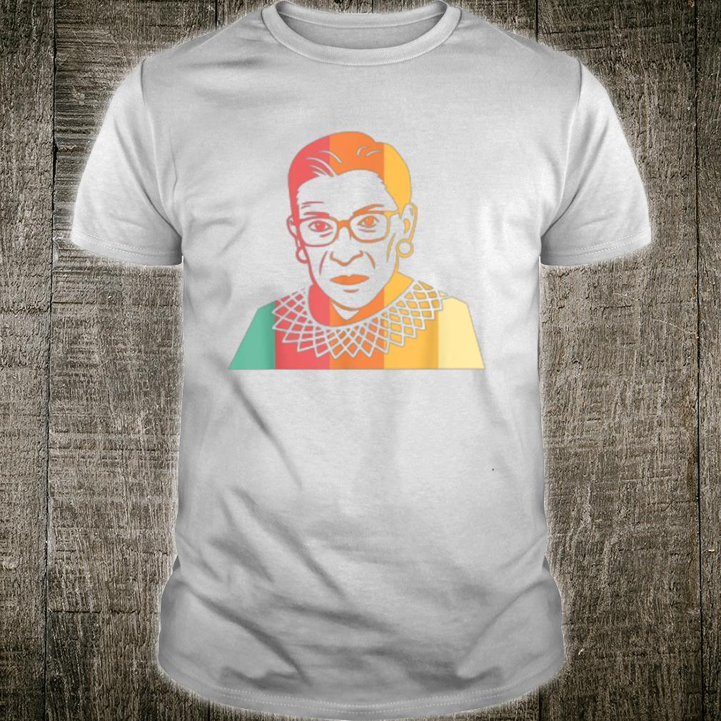 RBG Retro Vintage Ruth Bader Ginsburg Shirt