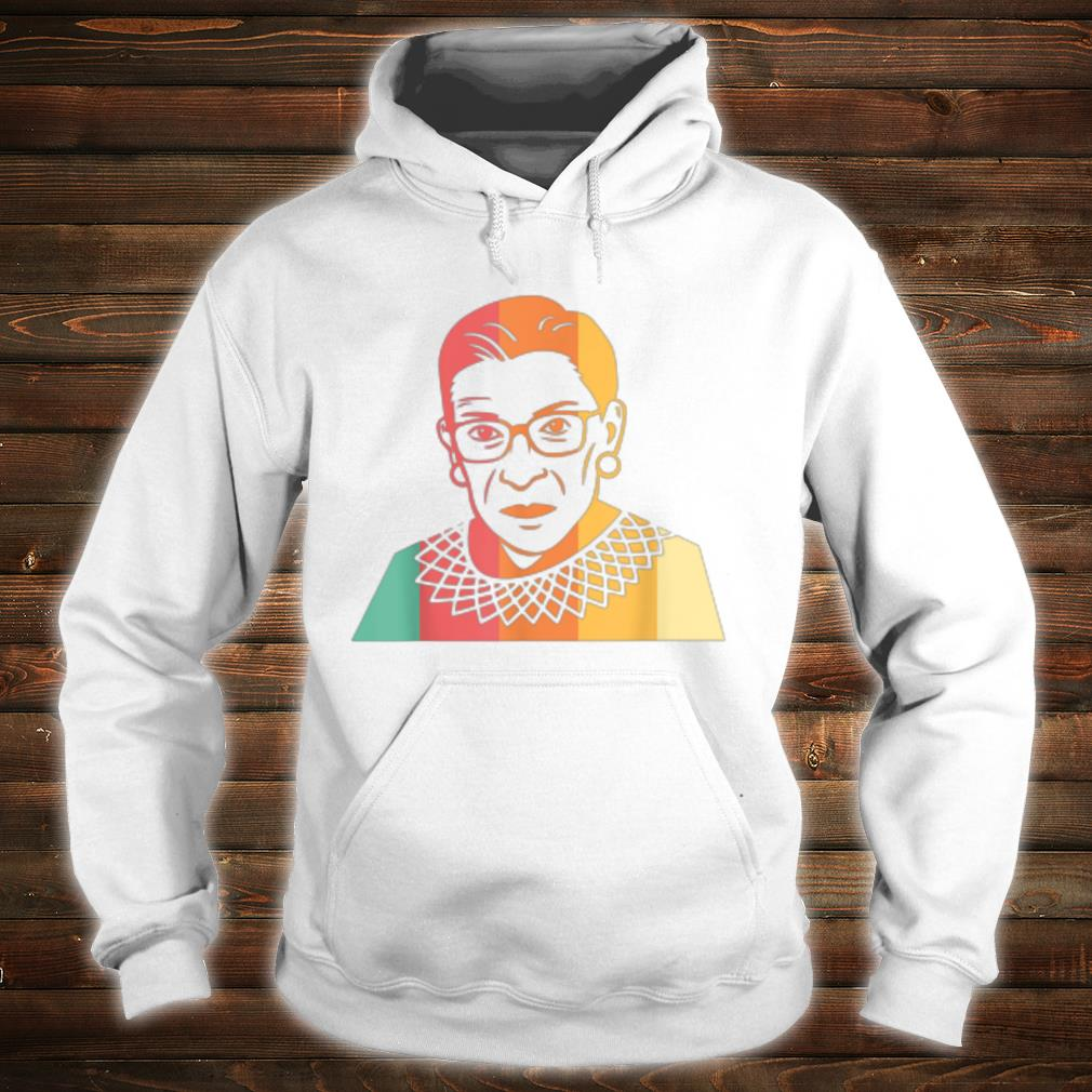 RBG Retro Vintage Ruth Bader Ginsburg Shirt hoodie