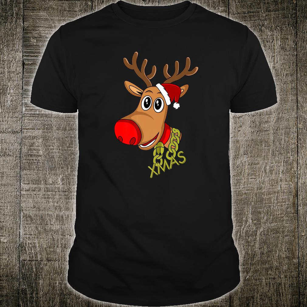 RUDOLPH Red Nose Reindeer Donner Blitzen Shirt