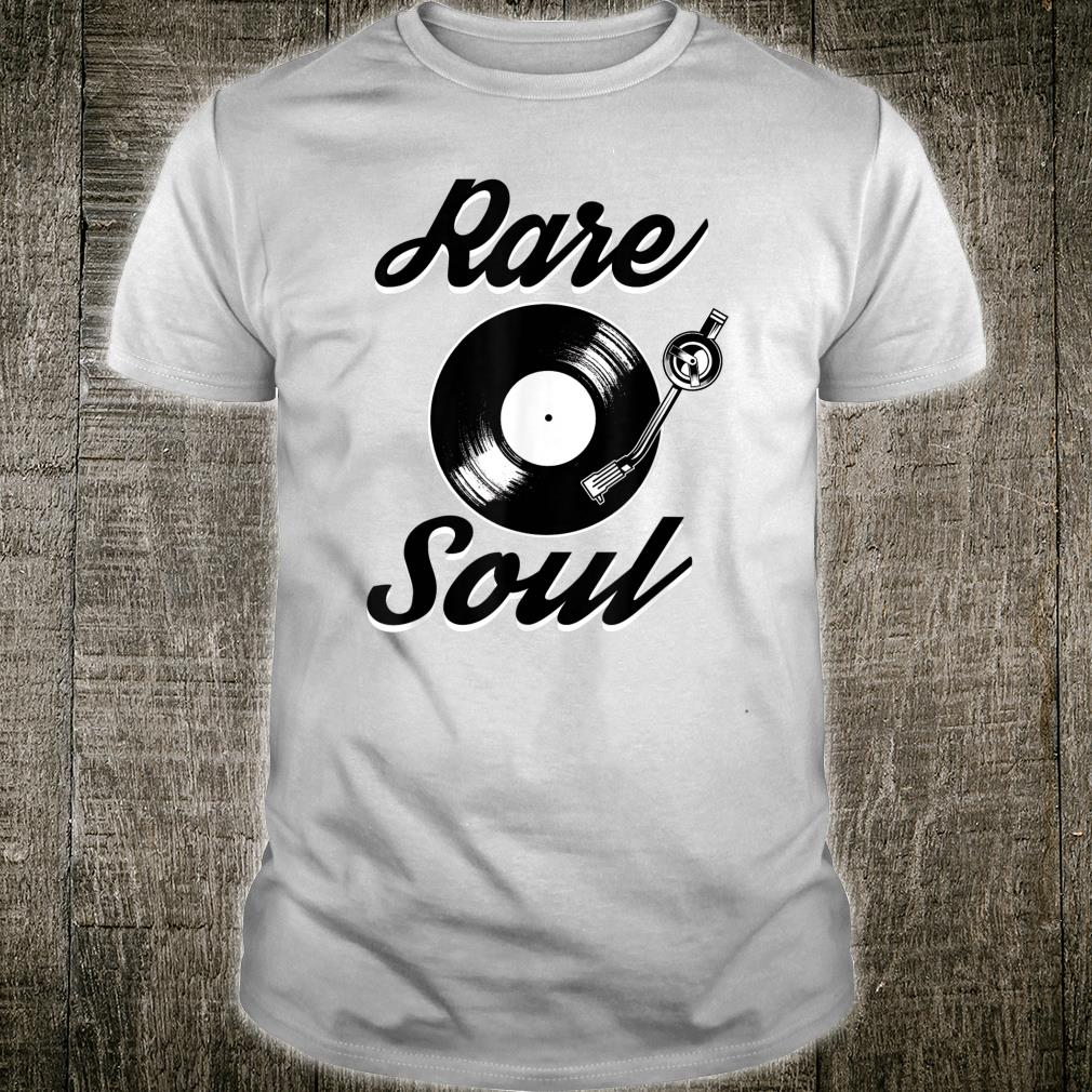 Rare Soul Music Vinyl DJ Shirt
