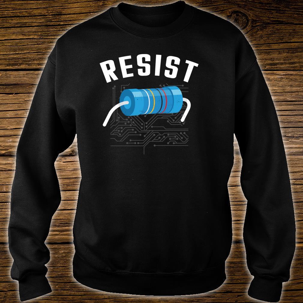 Resistor Electronic Science Nerd Design Shirt sweater