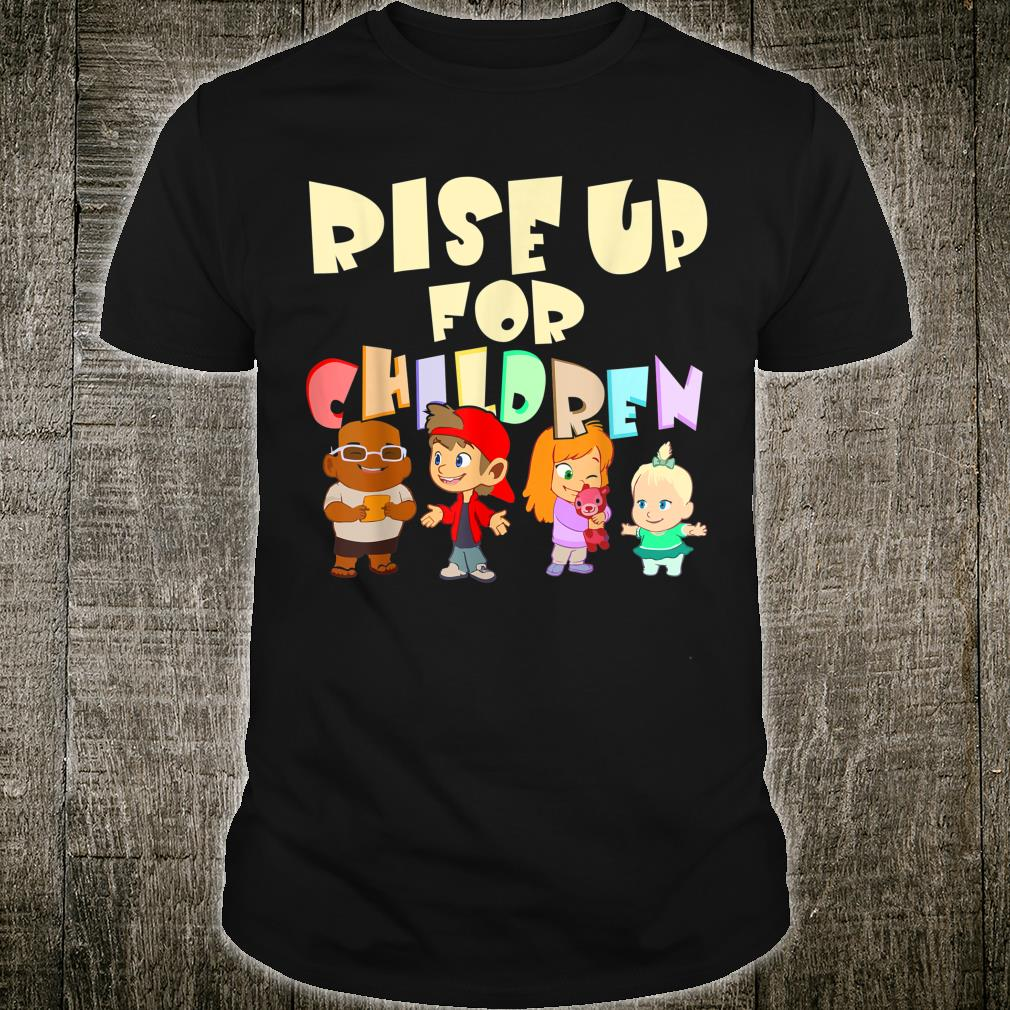 Rise Up for Children Child Trafficking Shirt