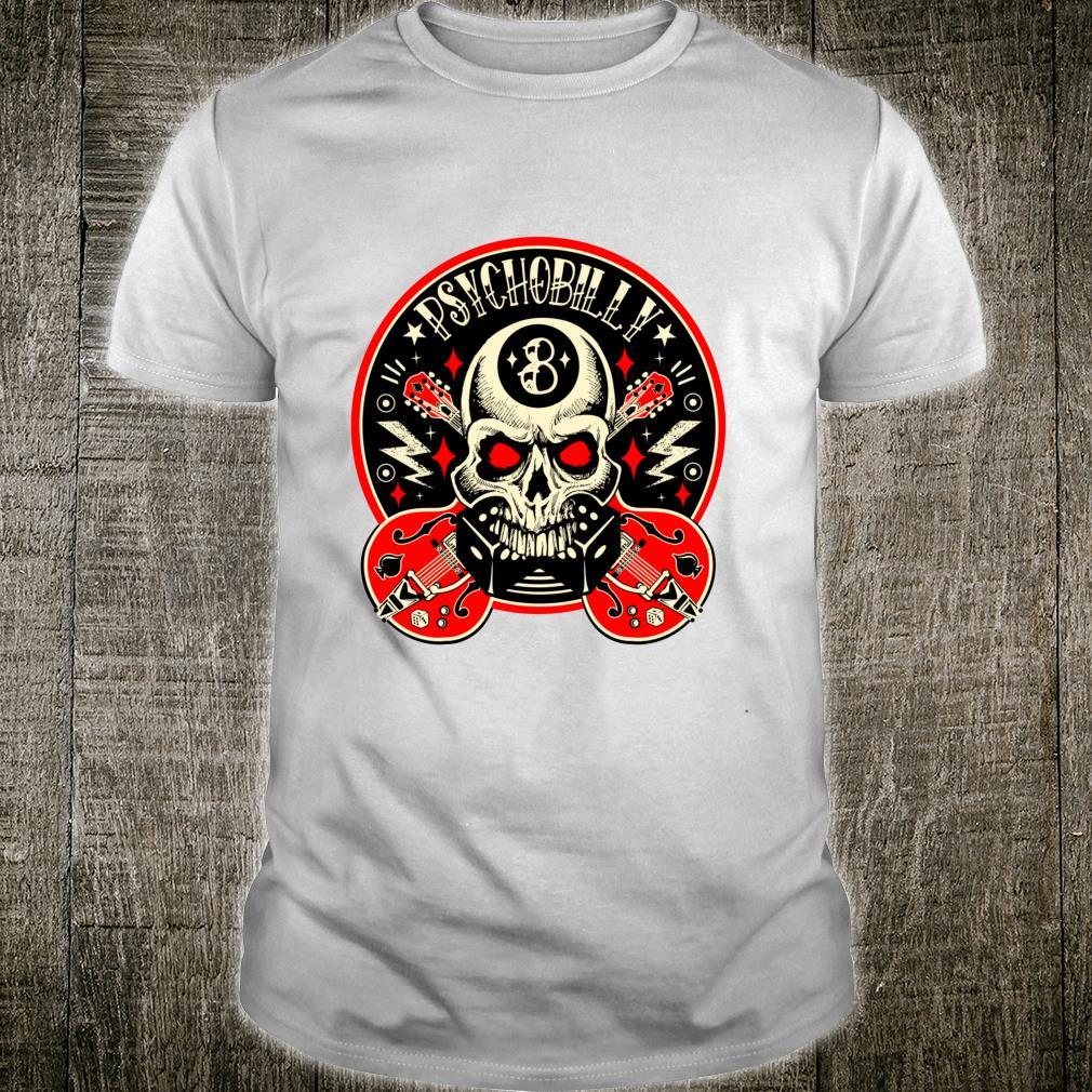 Rockabilly Skull Clothing Psychobilly Vintage Rocker Biker Shirt
