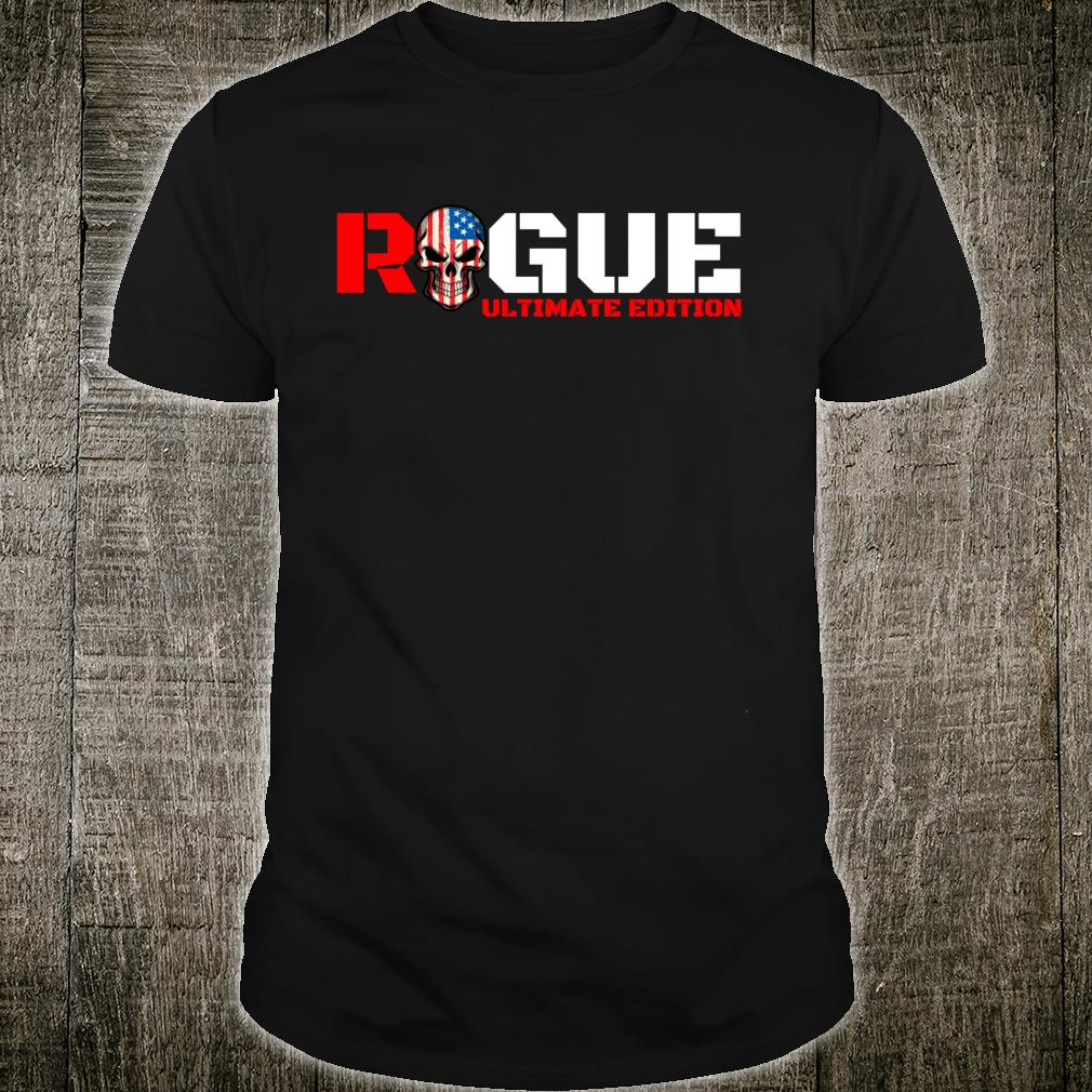 Rogue Cool Military Style Armed Forces Bad Boy Shirt