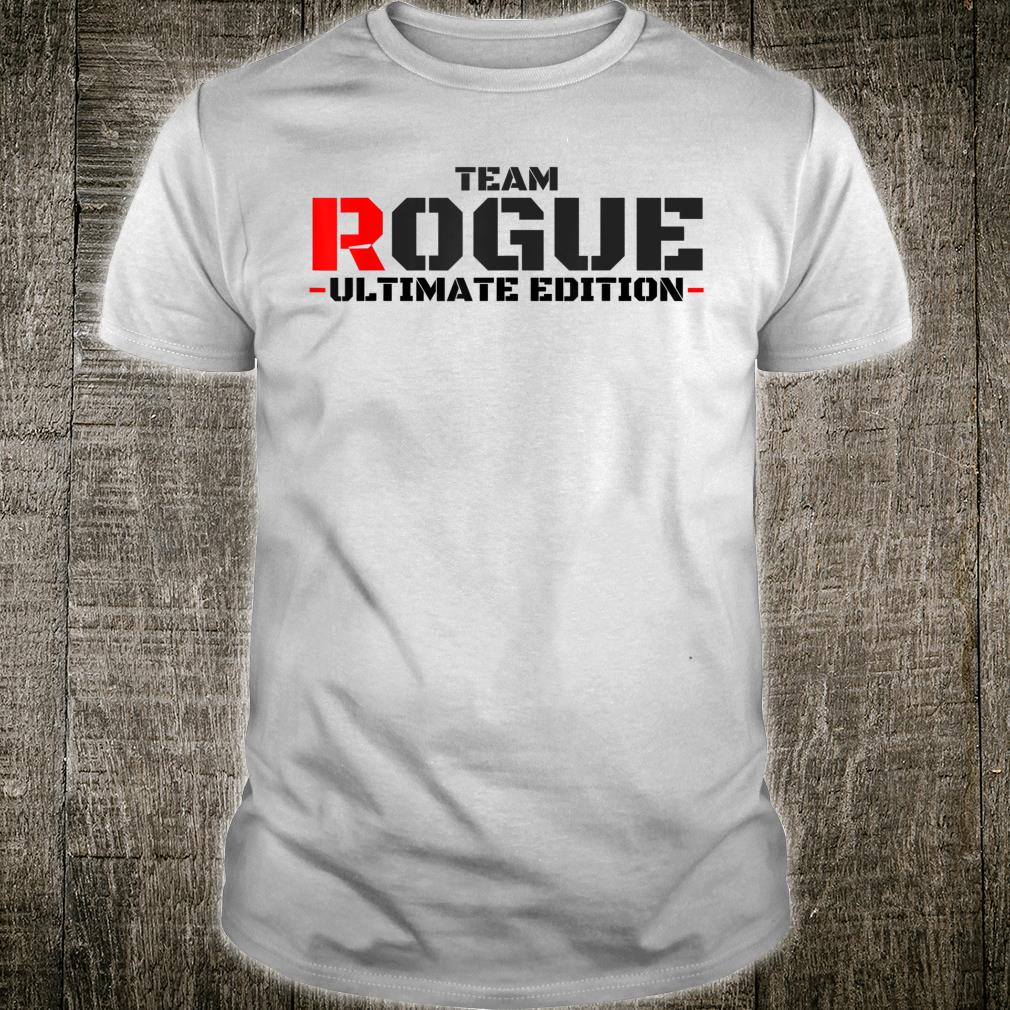 Rogue Life Armed Forces Military Gaming Gym Bad Boy Army Shirt