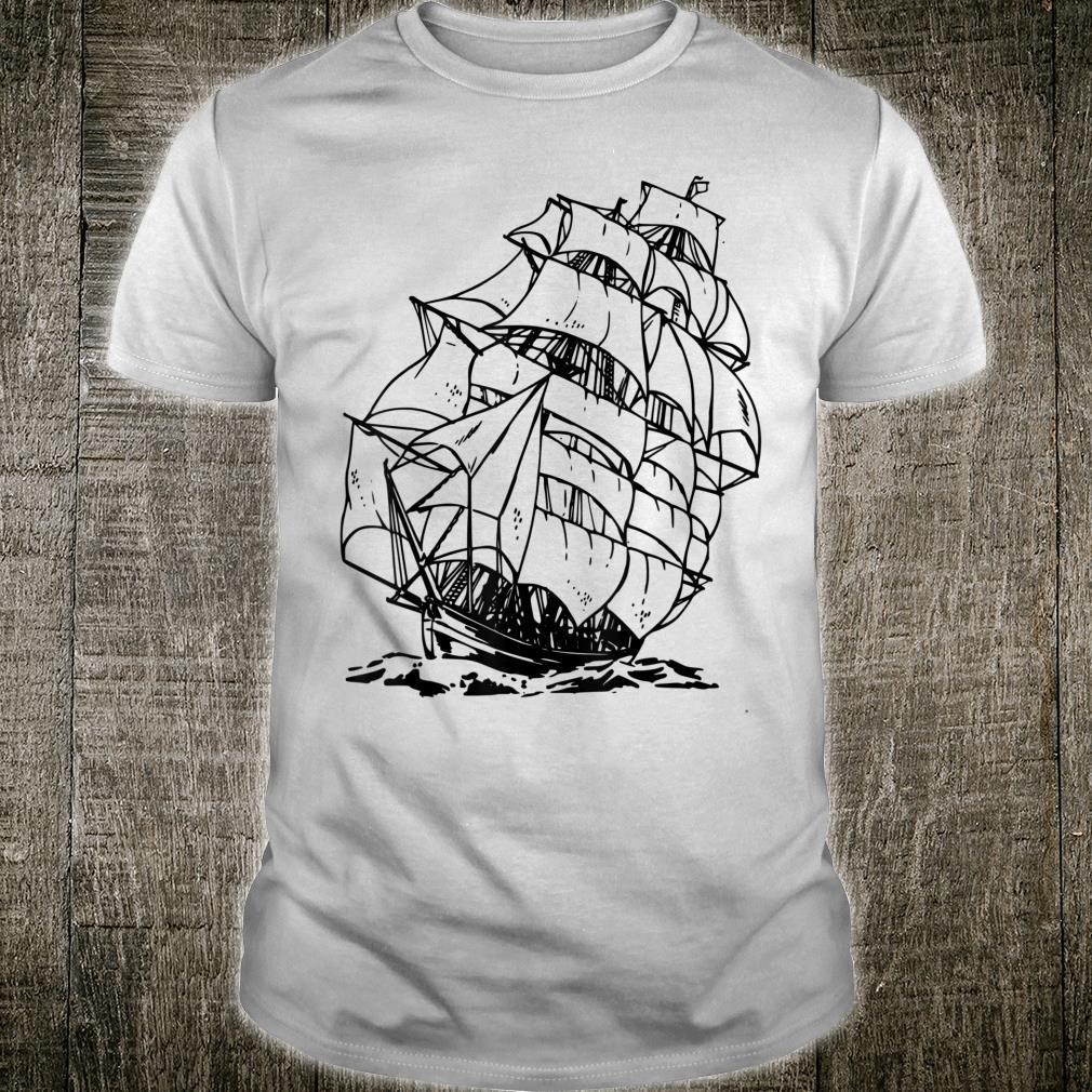 Sailor Pirate Ship Shirt