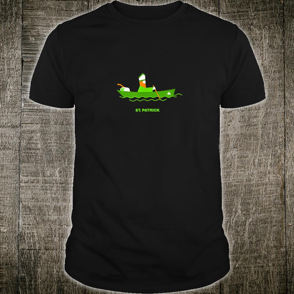 Saint Patrick's Day 2021 Sailing Paddy Irish Clover Shirt