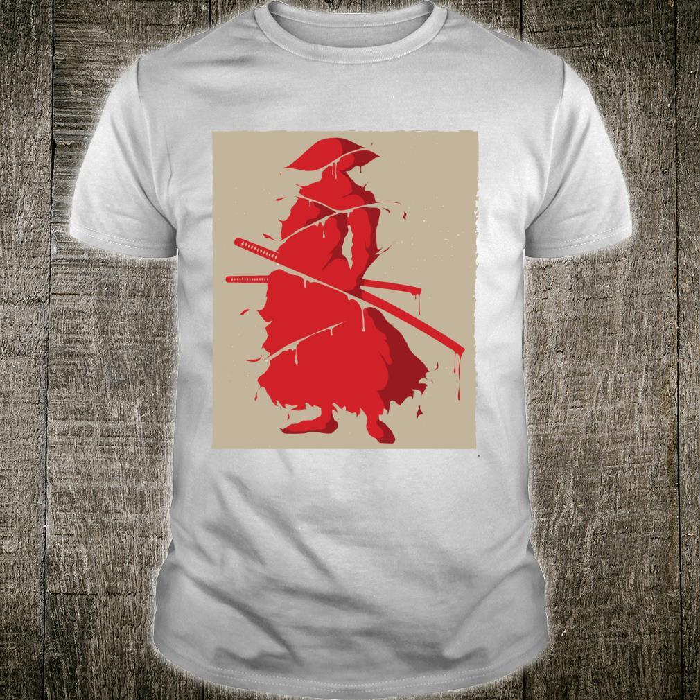 Samurai Vintage Japanese Retro Art Shirt