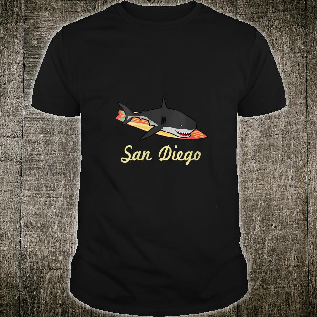 San Diego Beach Souvenir Surf Californias Shirt