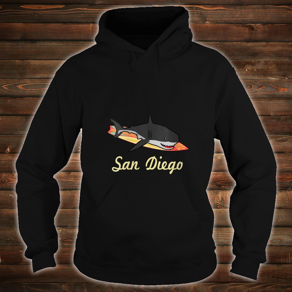 San Diego Beach Souvenir Surf Californias Shirt hoodie
