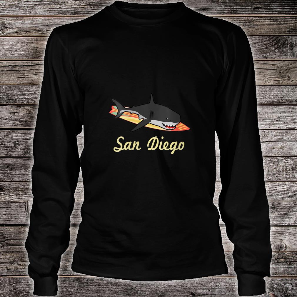 San Diego Beach Souvenir Surf Californias Shirt long sleeved