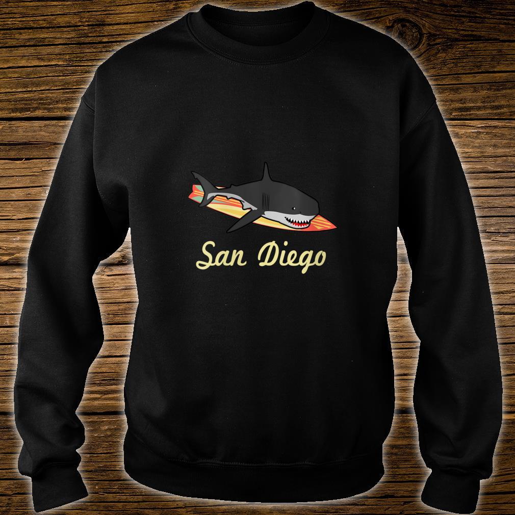 San Diego Beach Souvenir Surf Californias Shirt sweater