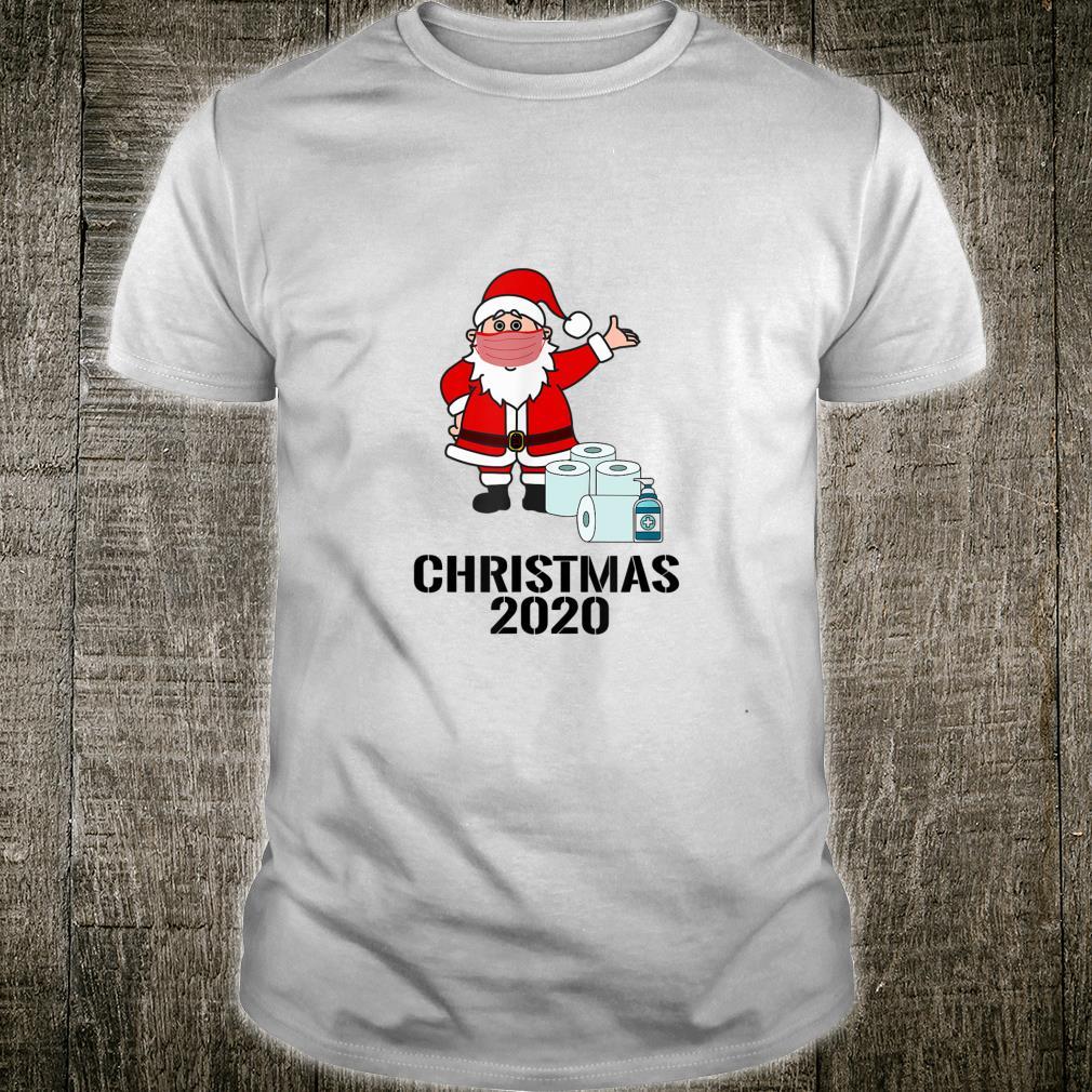 Santa Wearing A Mask, 2020 Christmas Shirt