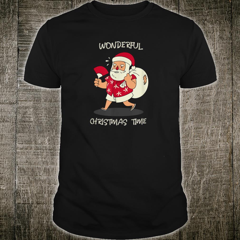 Santa Wonderful Christmas Time Shirt