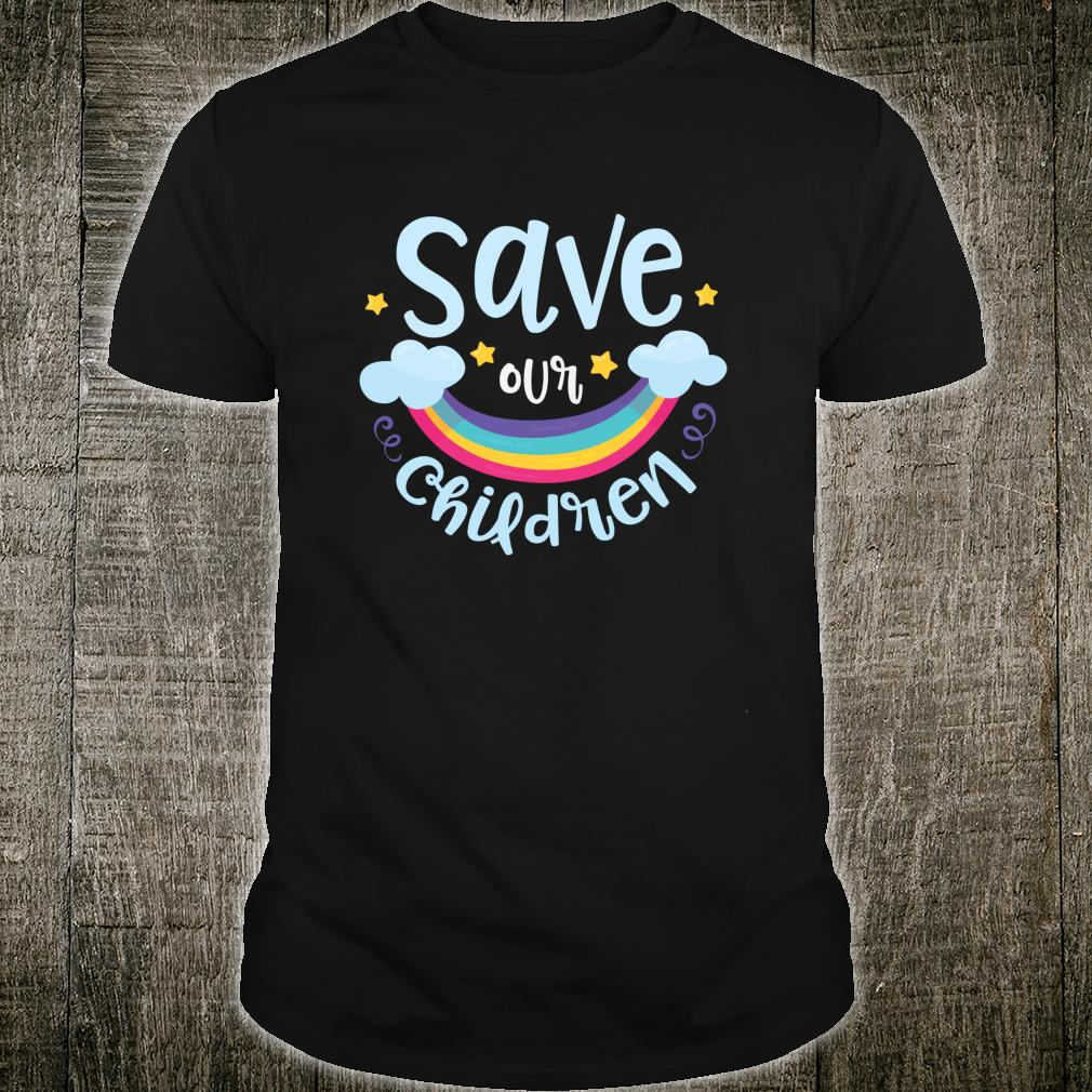 Save Our Children Child Awareness Month Shirt
