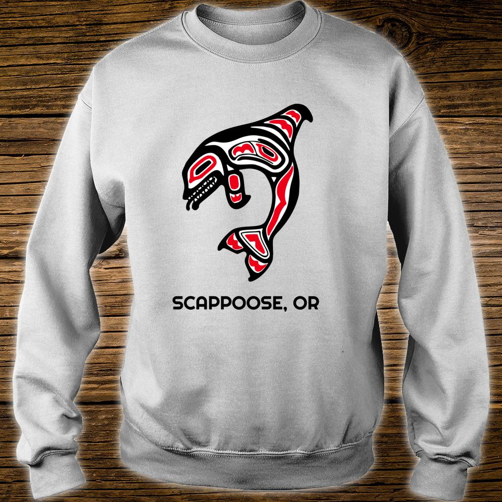 Scappoose, Oregon Native American Orca Killer Whales Shirt sweater