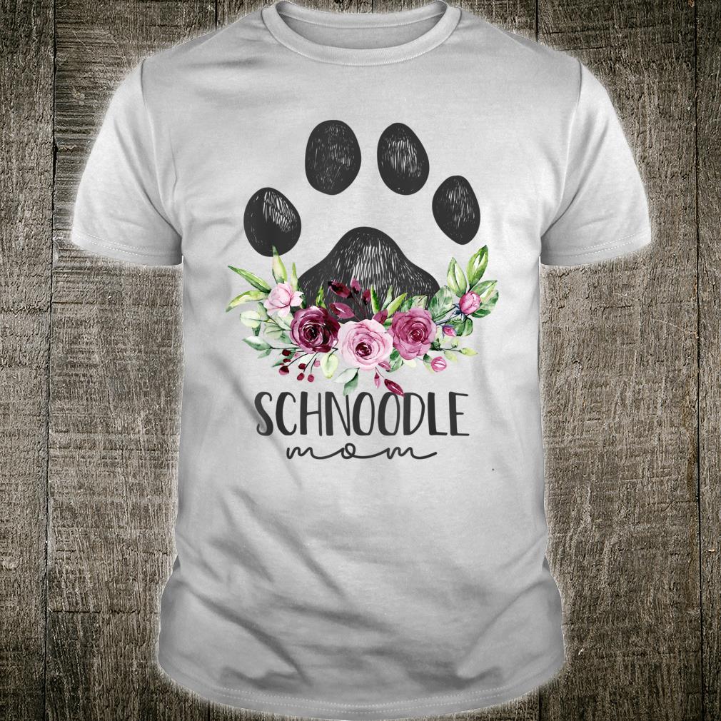 Schnoodle Shirt Dog Mom Shirt