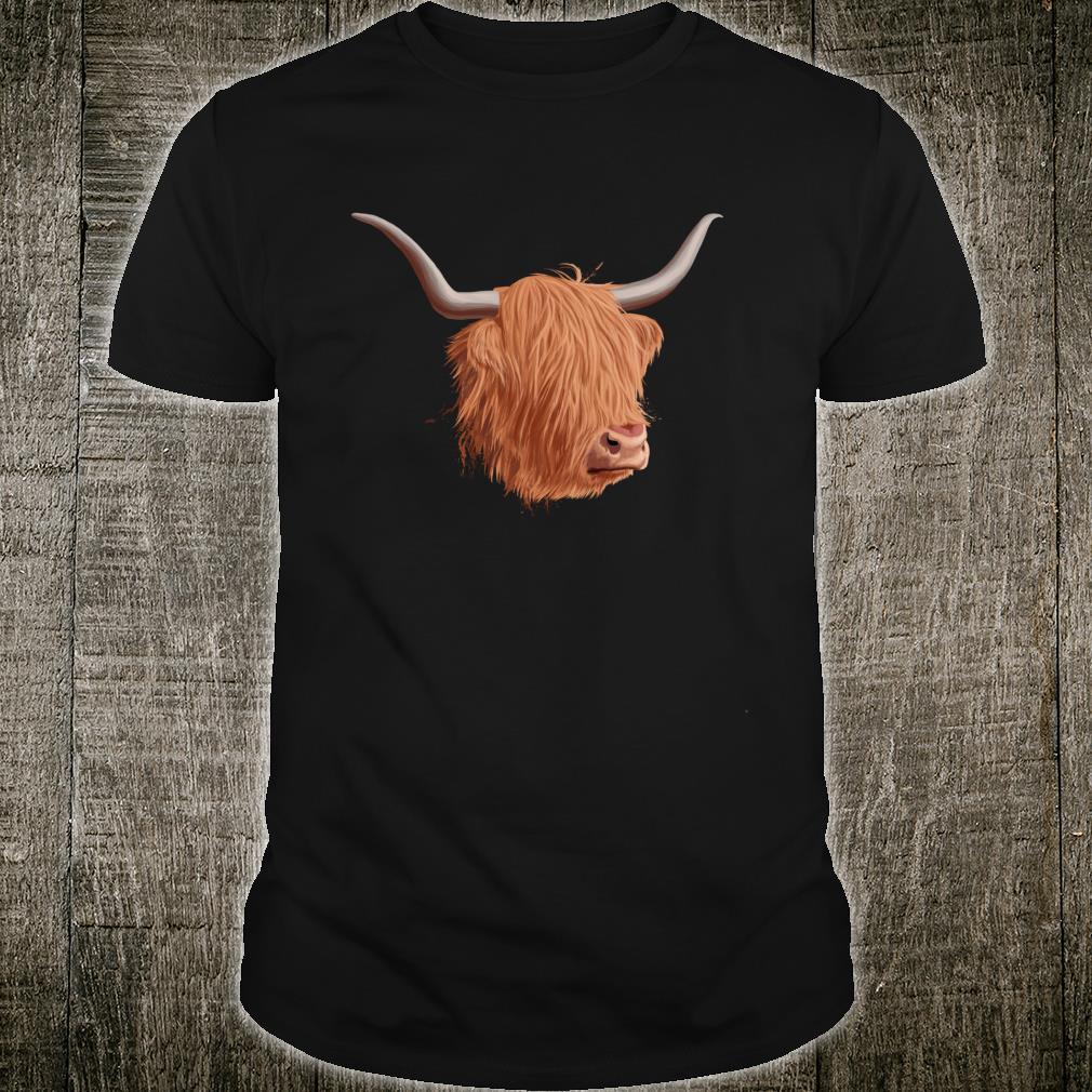 Schottische Hochlandrind Shirt