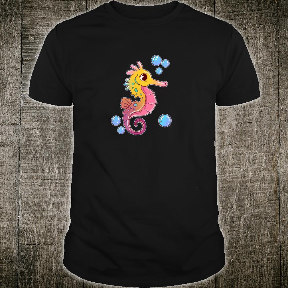Seepferdchen Geschenk Meeresfische UnterwasserStrand Shirt