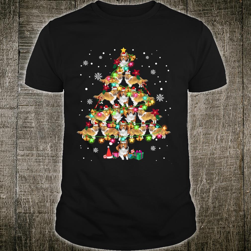 Shetland Sheepdog Christmas Tree Sheltie Christmas Shirt