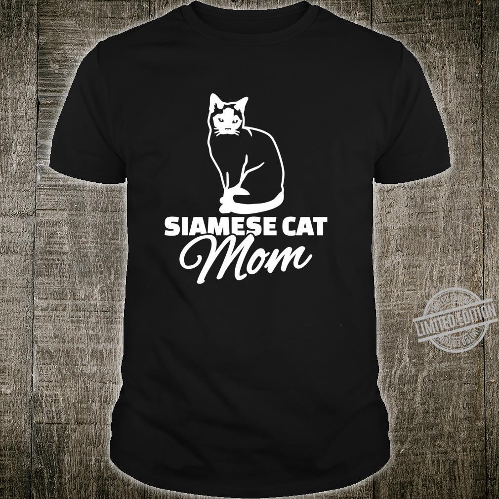 Siamese cat mom Shirt