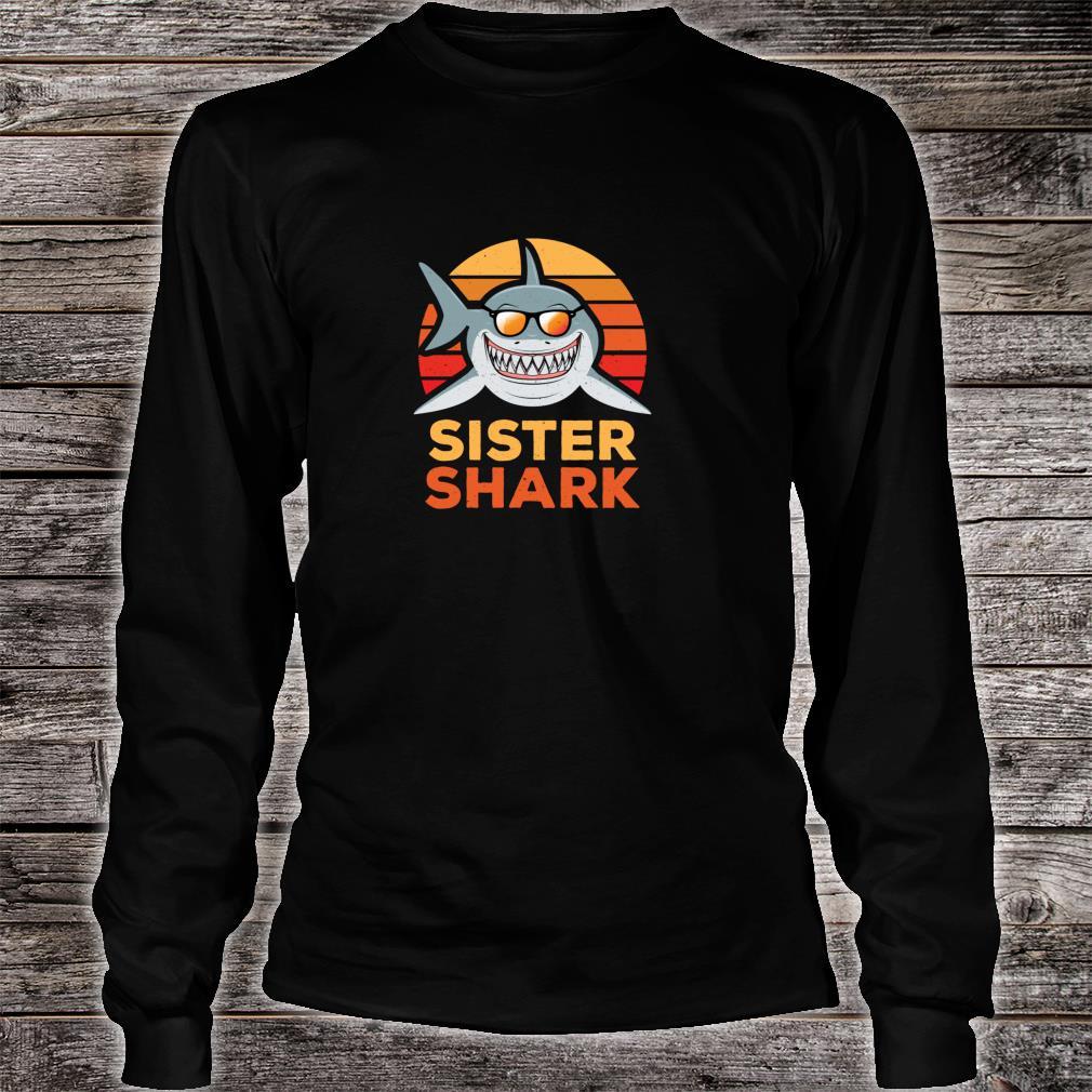 Sister Shark Shirt long sleeved