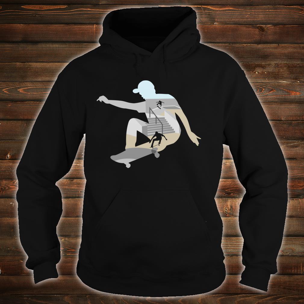 Skateboard Shirt hoodie