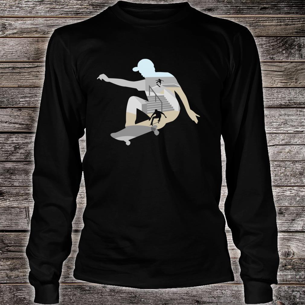 Skateboard Shirt long sleeved