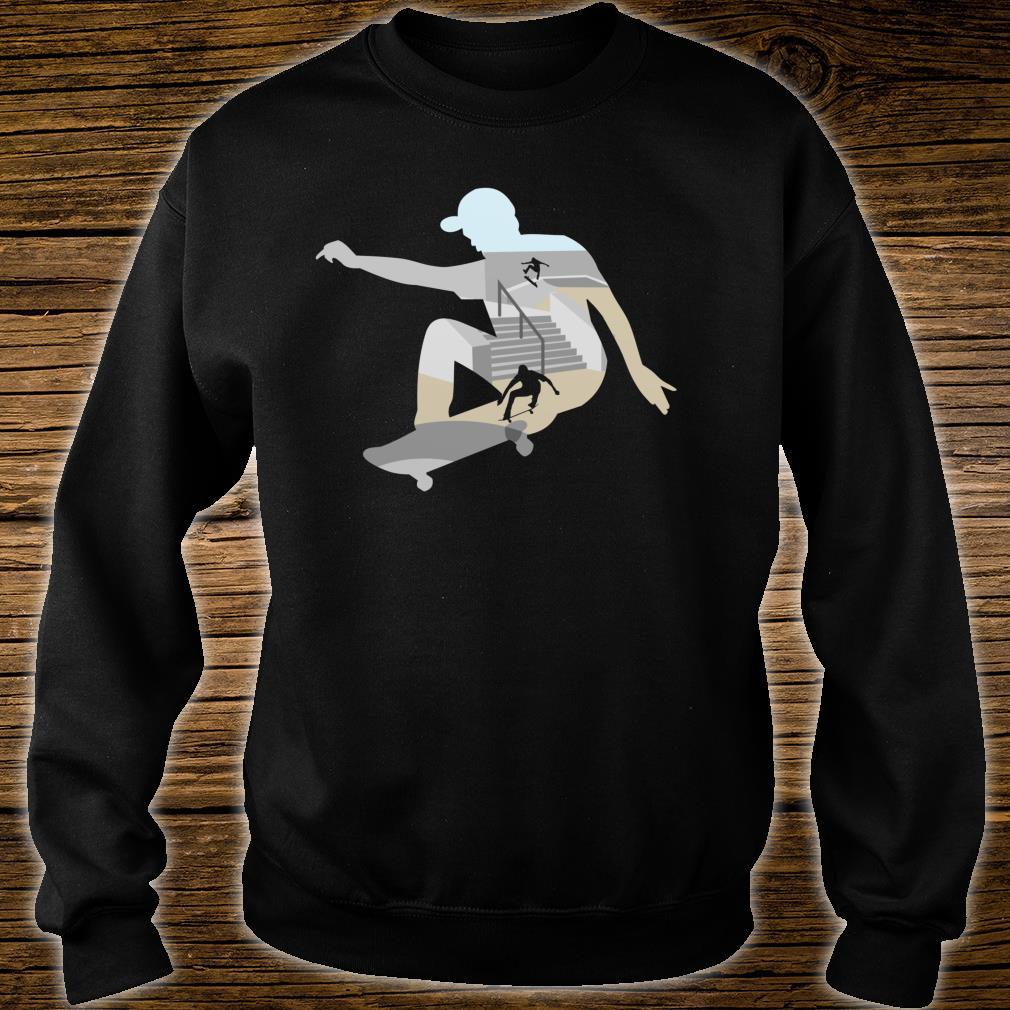 Skateboard Shirt sweater