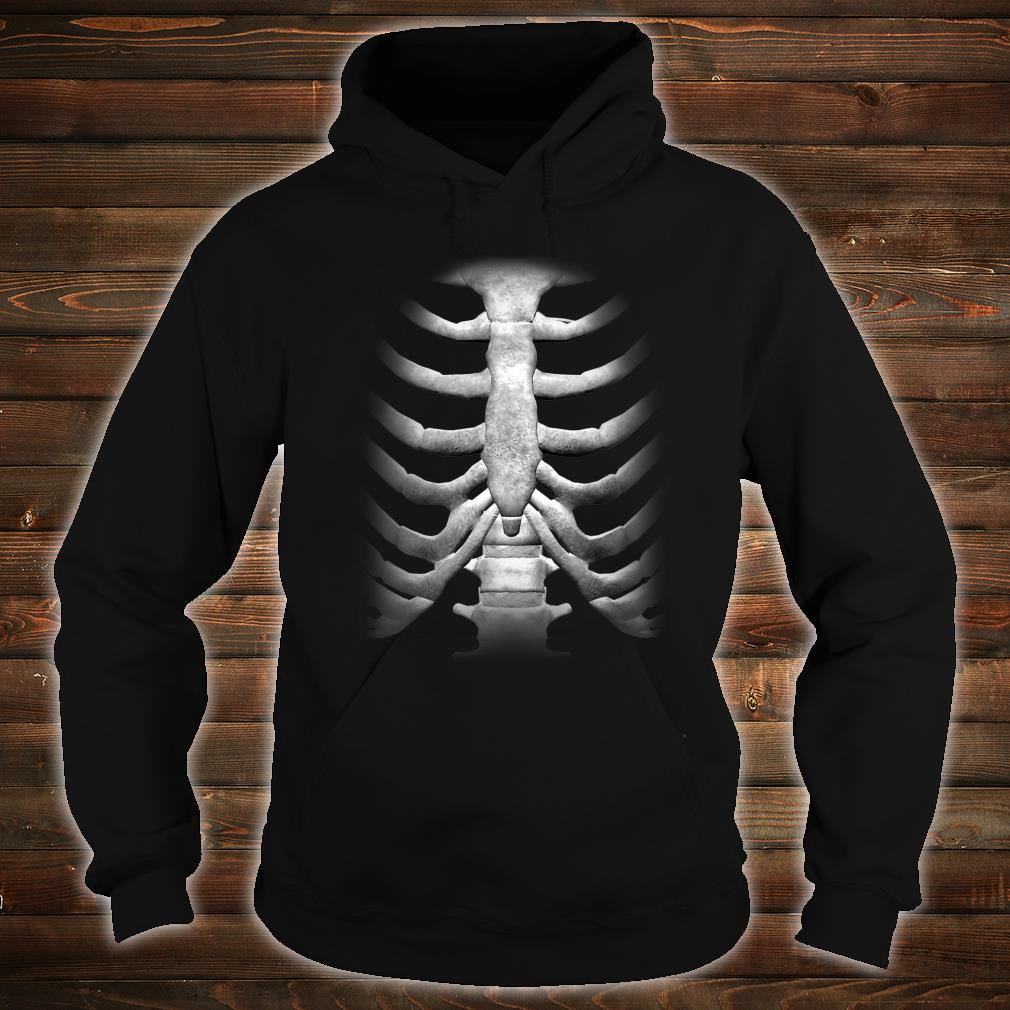 Skeleton Chest RibCage Bones Halloween Shirt hoodie