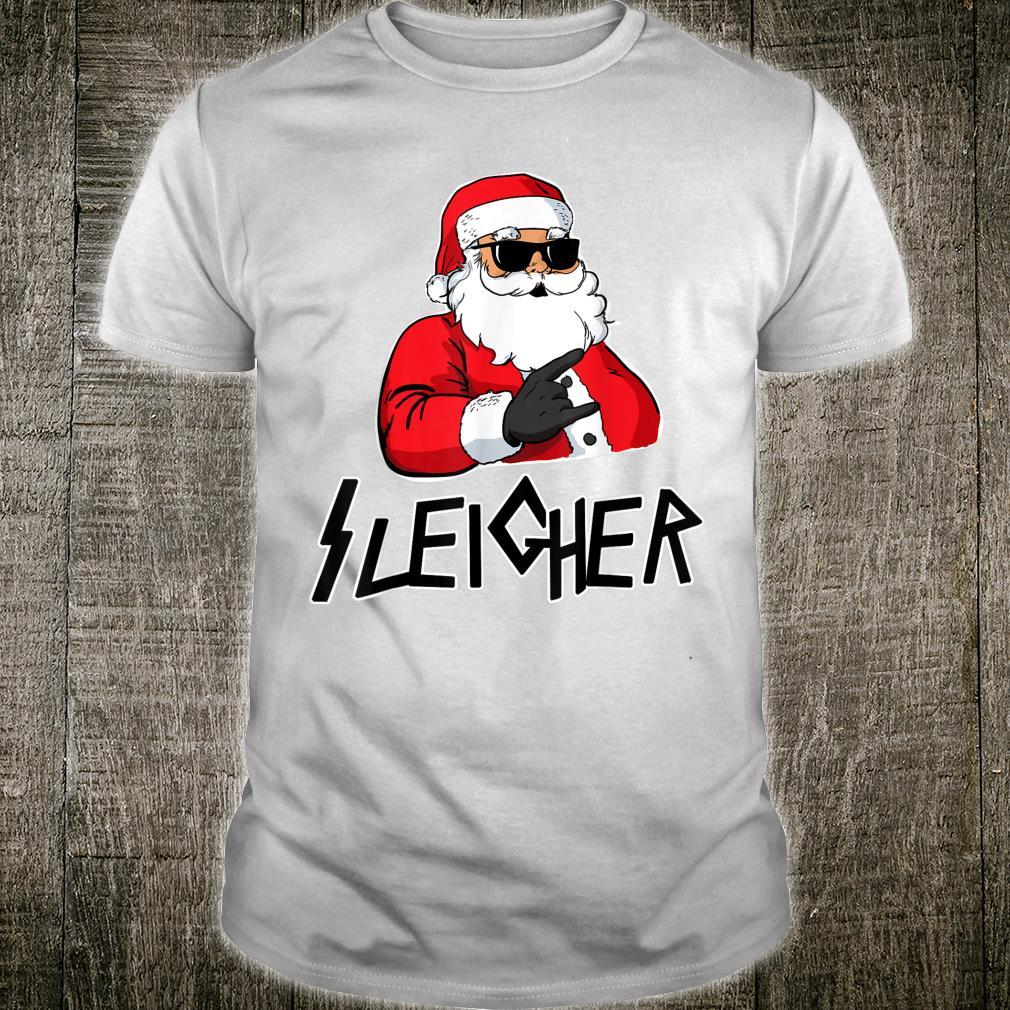 Sleigher Metal Santa Sleigher Shirt