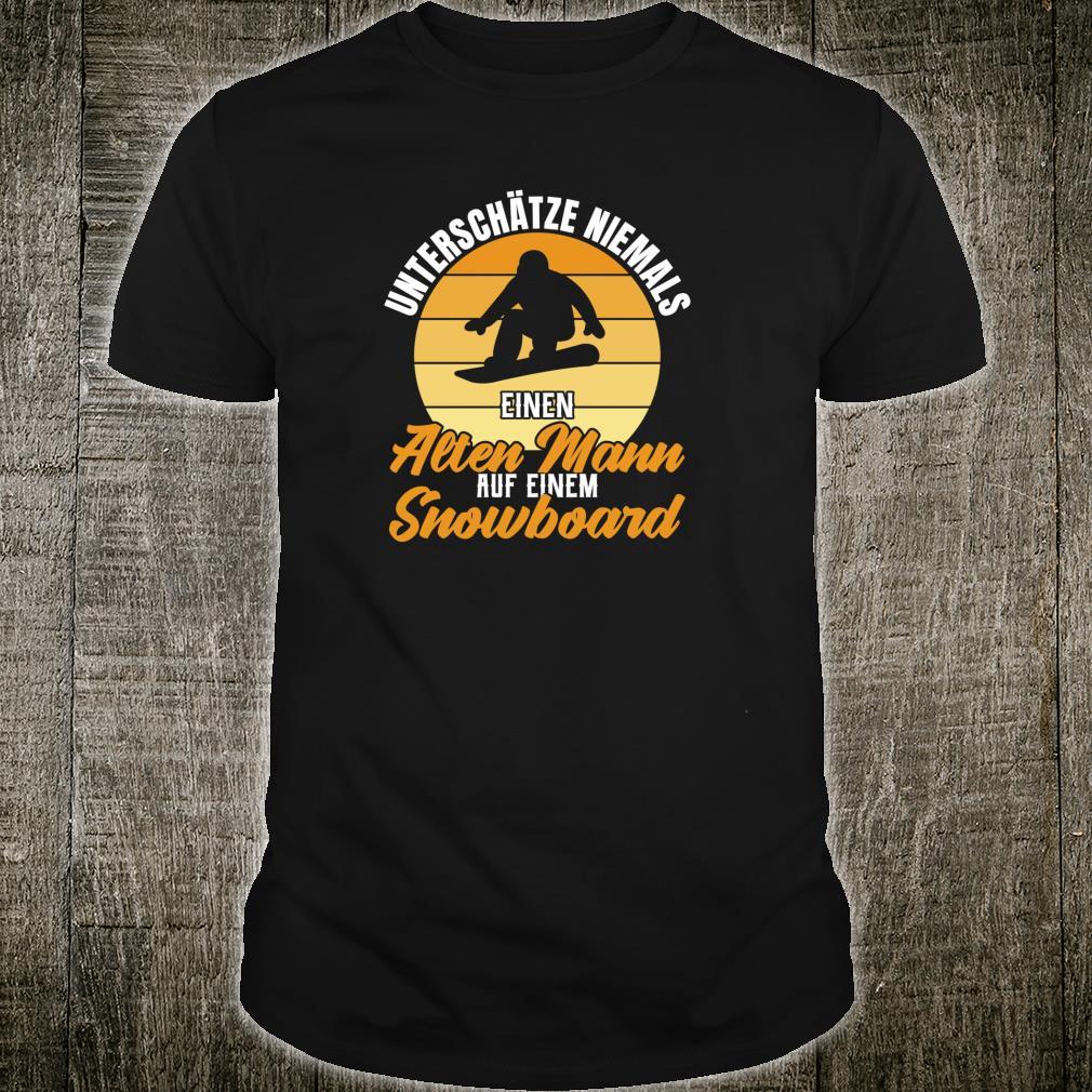 Snowboard Outfit fürs Snowboarden im Vintage Stil Shirt
