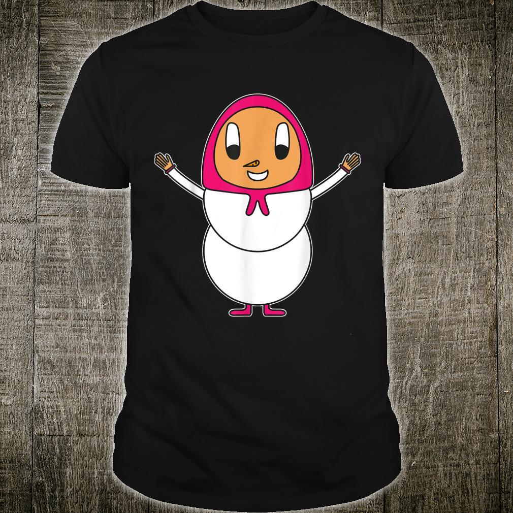 Snowwoman Egg Shirt