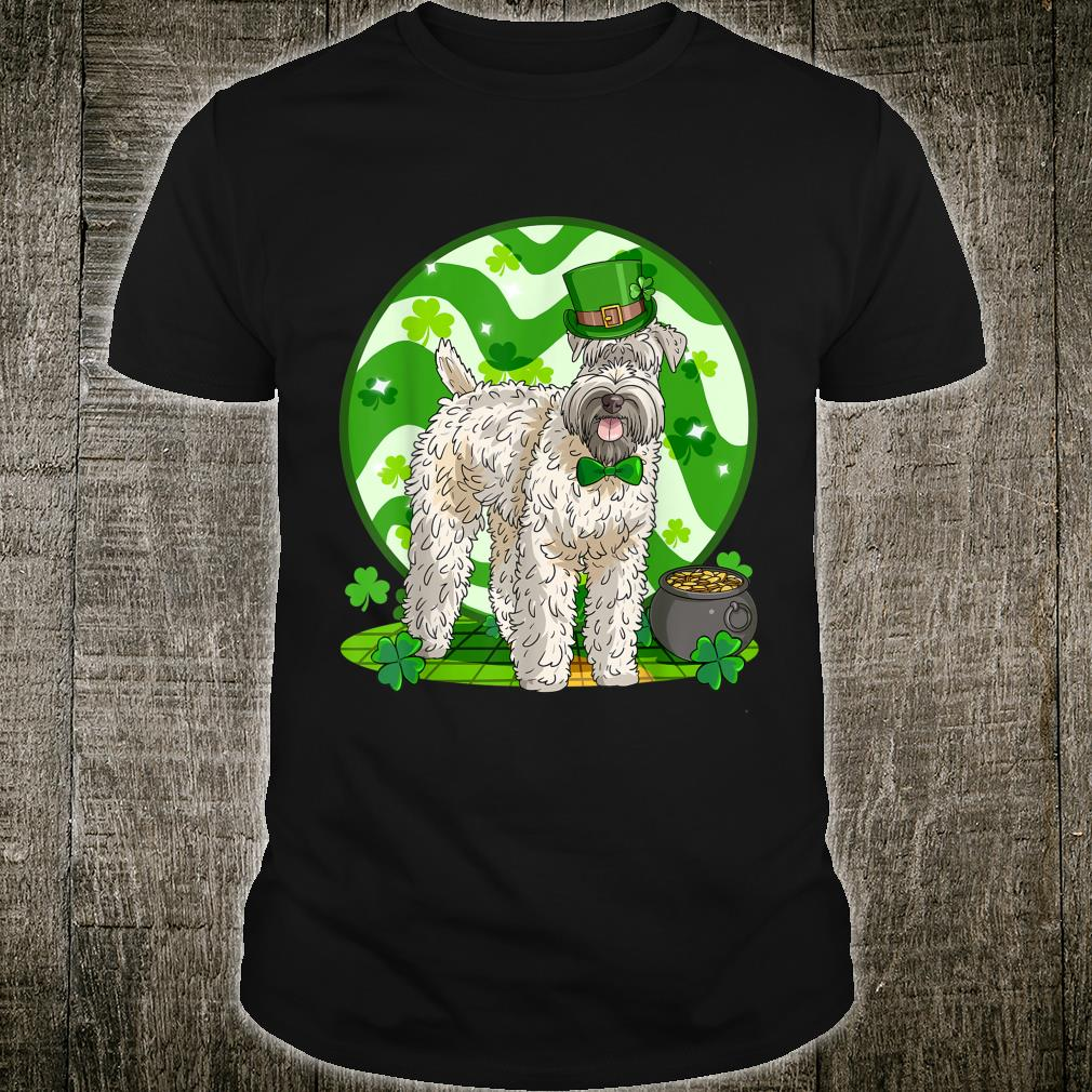 Softcoated Wheaten Terrier Leprechaun St. Patricks Day Shirt