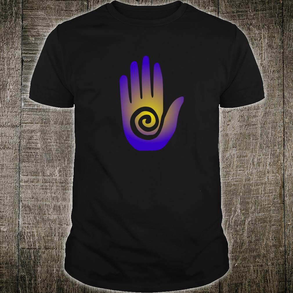 Southwestern Tribal Hopi Hand Esoteric Symbol Boho Shirt