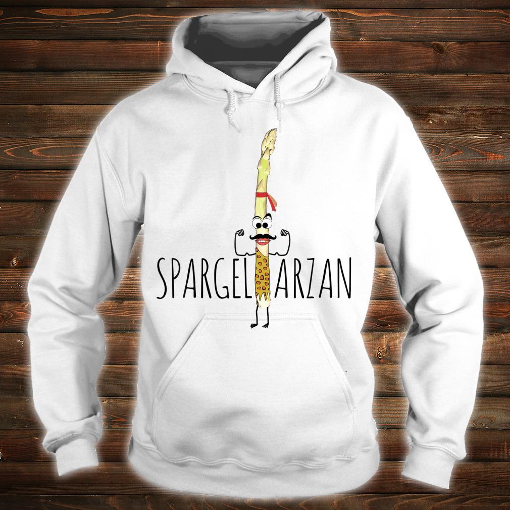 Spargeltarzan Spargel Fitness Geschenkidee Shirt hoodie