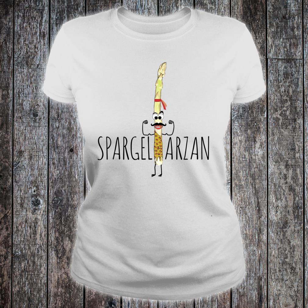 Spargeltarzan Spargel Fitness Geschenkidee Shirt ladies tee