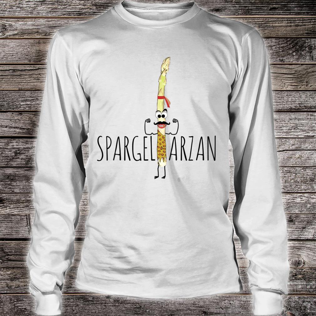Spargeltarzan Spargel Fitness Geschenkidee Shirt long sleeved