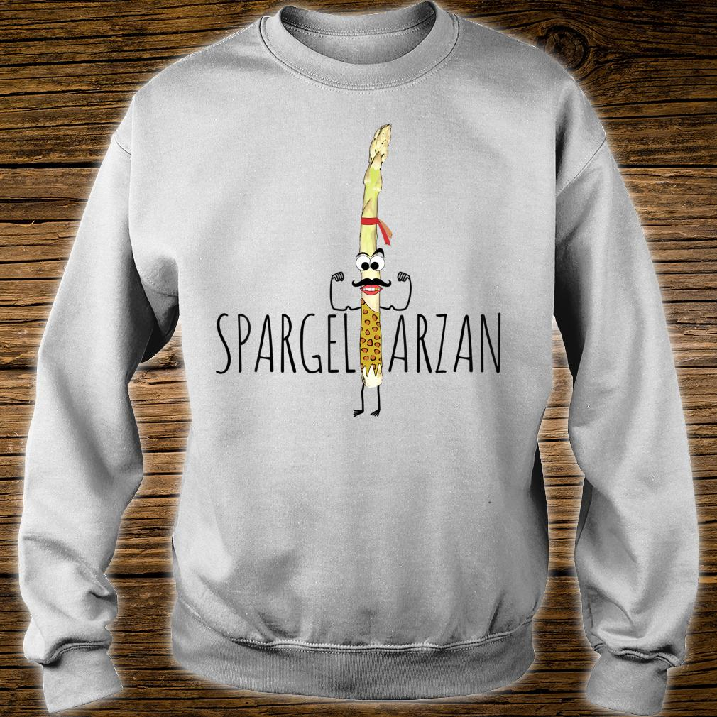 Spargeltarzan Spargel Fitness Geschenkidee Shirt sweater
