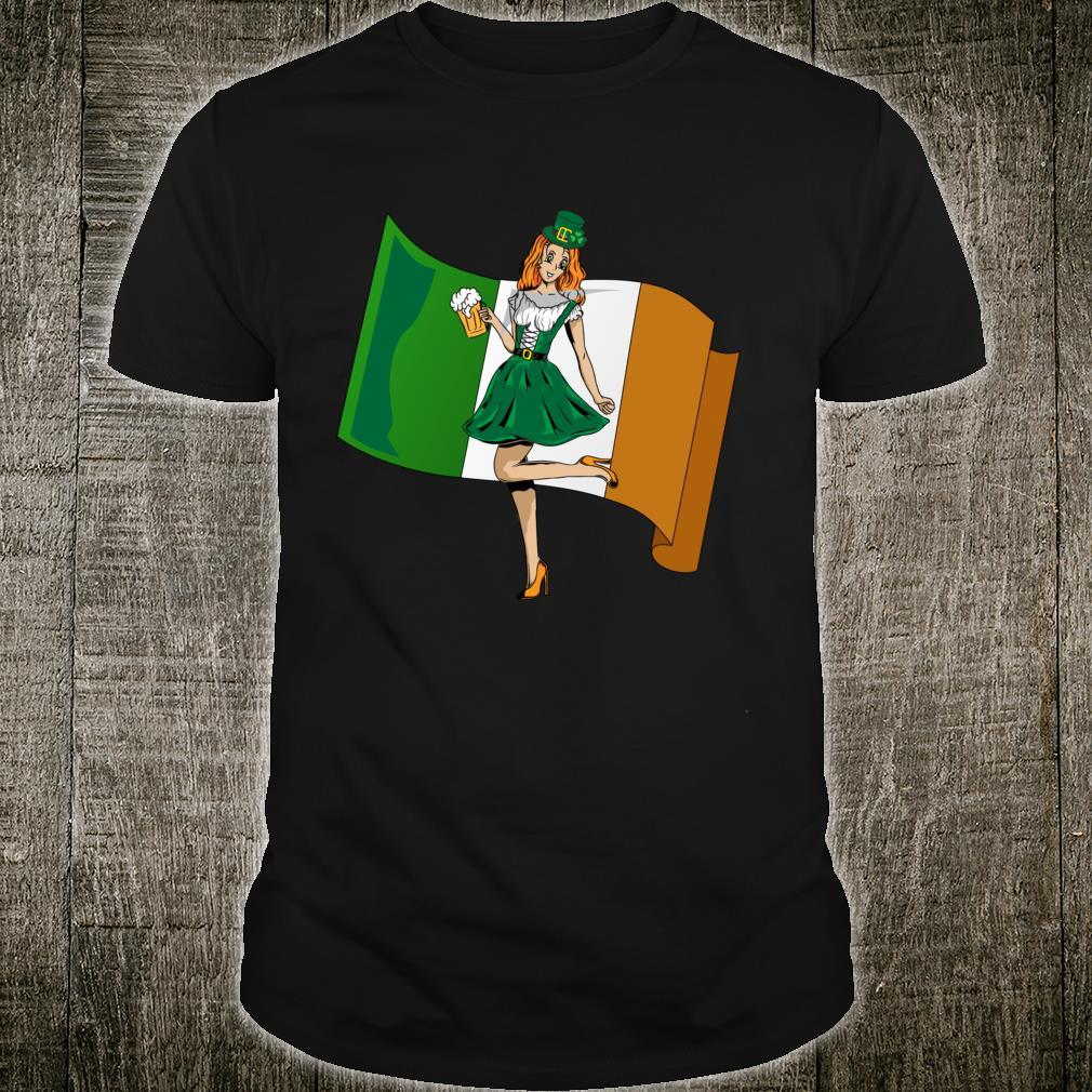 St Pattys Day Saint Patrick Irish Flag Shirt