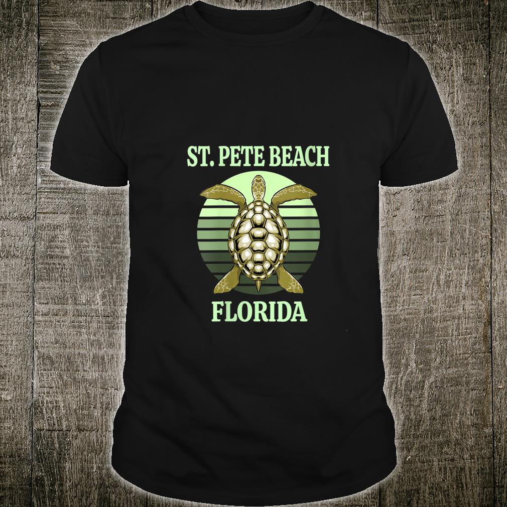St. Pete Beach Florida Sea Turtle Shirt