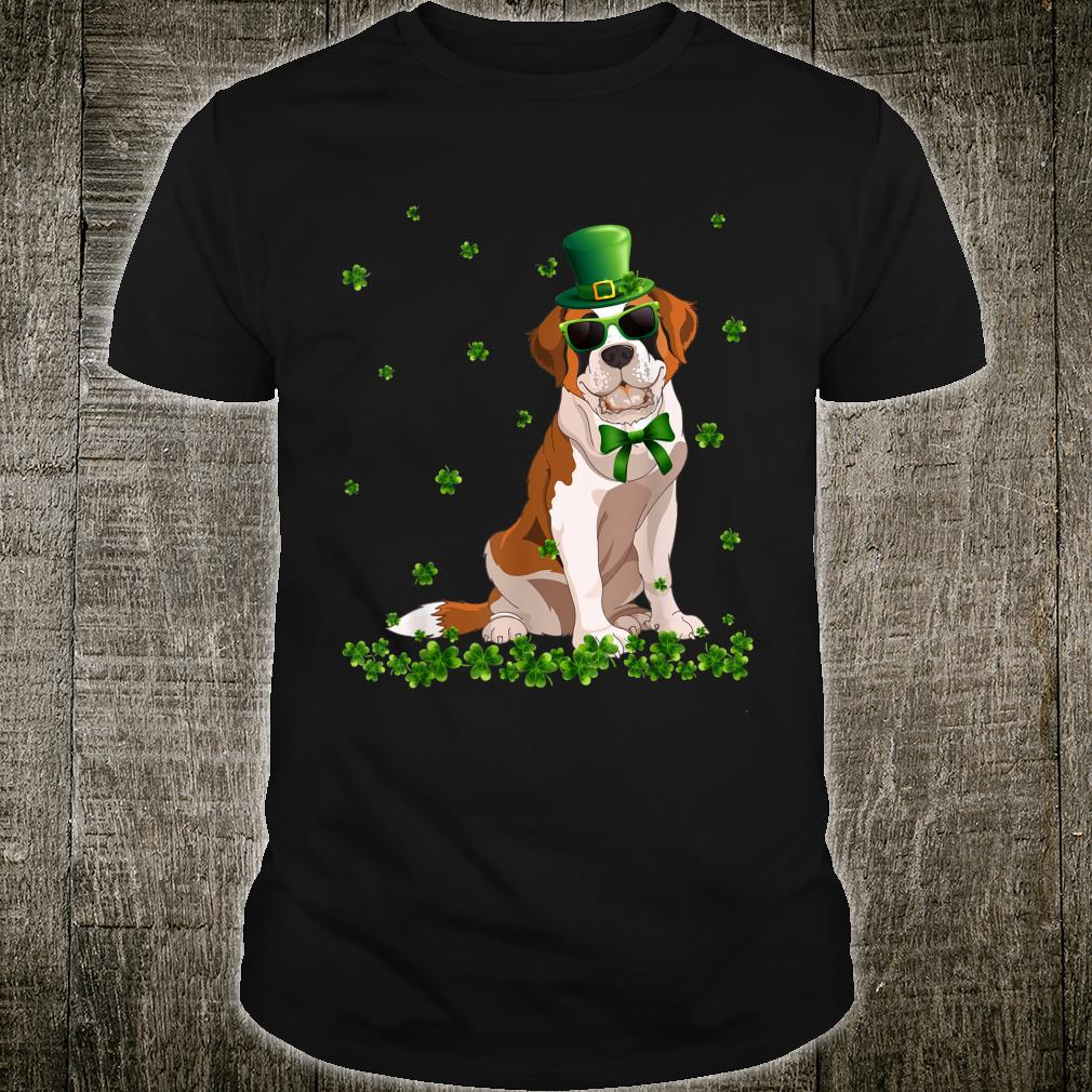 St.Patrick's Day Bernard Hat Shamrock Shirt