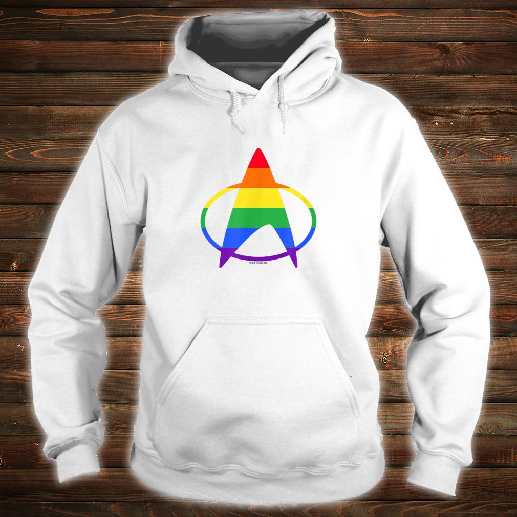 Star Trek The Next Generation Pride Delta Shirt hoodie